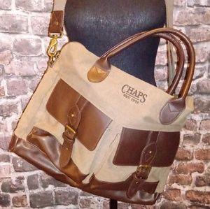🔸 Chaps men's Business laptop messenger bag
